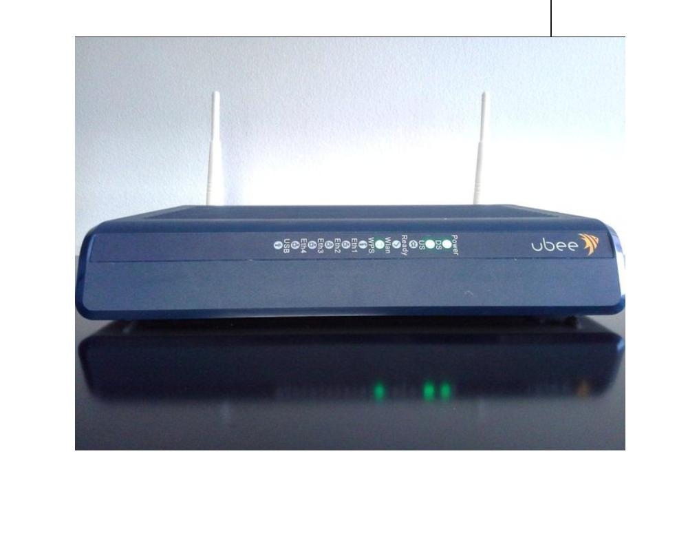 Ubee Docsis 3 0 Wireless Cable Modem Gateway Model